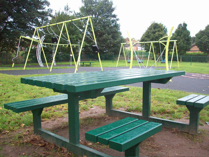 Exceptional Disabled Bench At Hartshill Park