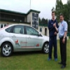 Captain Oliver is on the right road to success with sponsored car Image